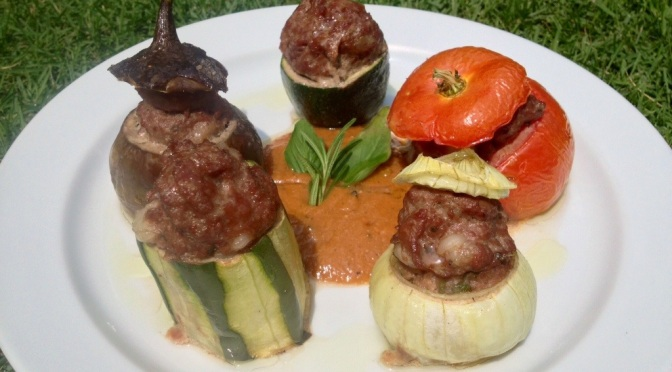 STUFFED VEGETABLES or Les Farcies