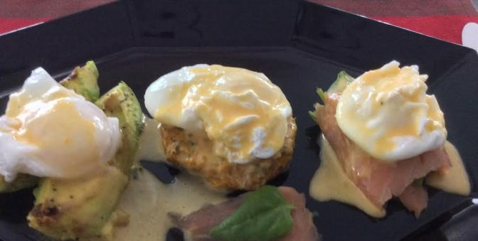 Chad's Primed Eggs Benedict 3-Ways