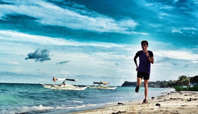 Marathon Friend's Running Tips – Stay Positive – Raul Concepcion aka Running Shield