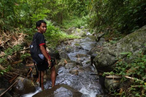 Alvin trail running