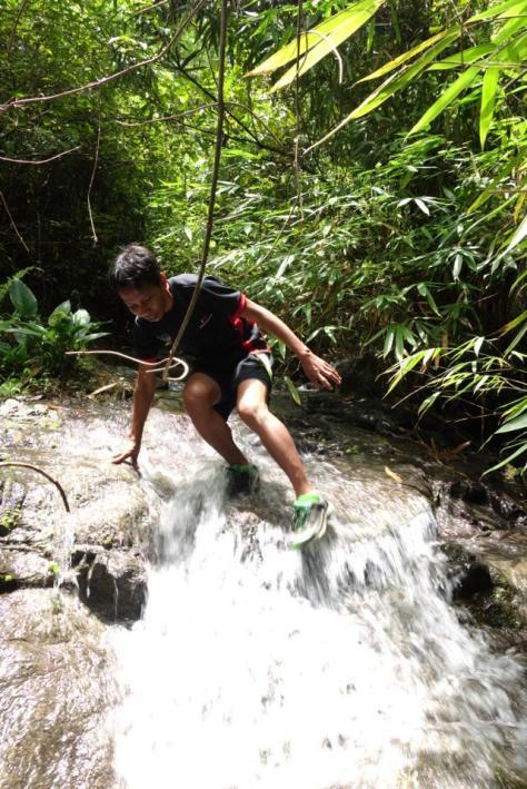 Alvin trail running1