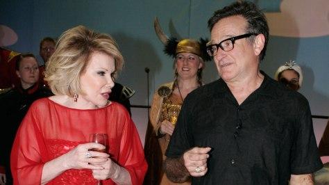 Robin Williams , Joan Rivers