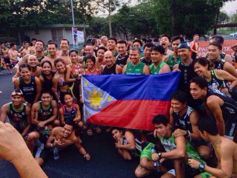 Filipino contingent to Langkawi