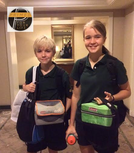 Primed Lunch Box - Lauren and Christian
