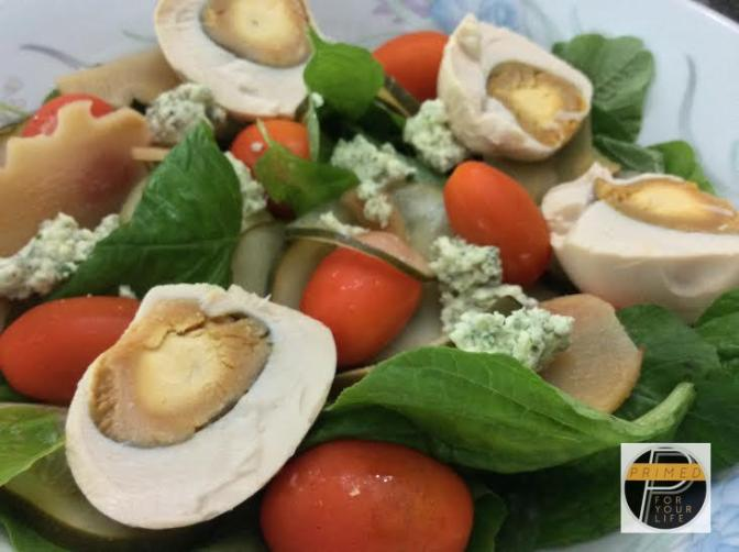 Gawad Kalinga Enchanted Farm Salted Duck Egg Salad