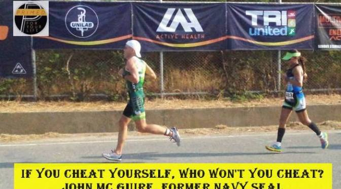 Cheat in your Triathlon and you are cheating more than just yourself