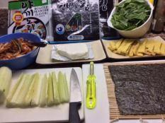 Kimbap Wrap