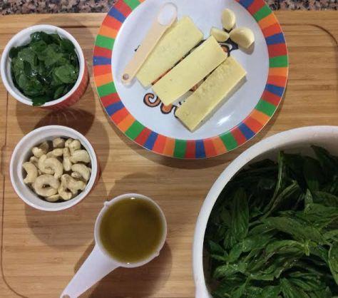 Pesto with Malunggay