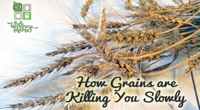 20 Reasons to avoid glyphosate poisoned grains and TOXIC vegetable oil.