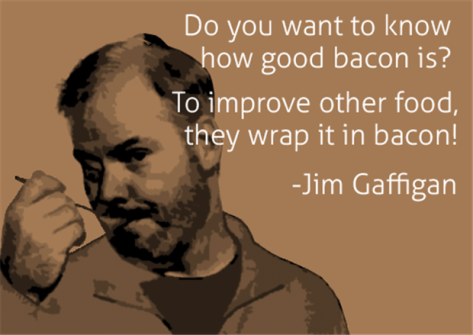 Bacon funny quote