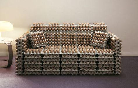 Eggxcellent sofa