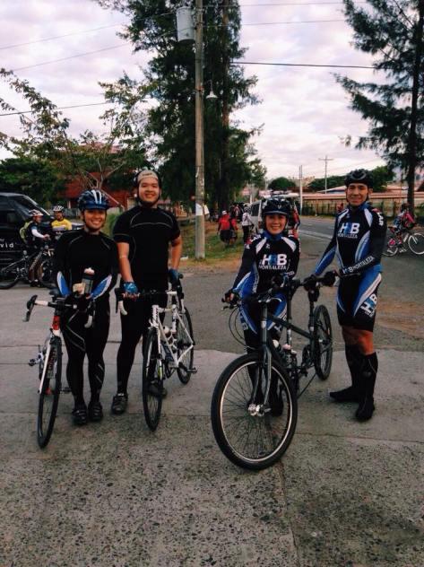 Tandem riders