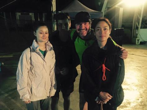 Trail running family