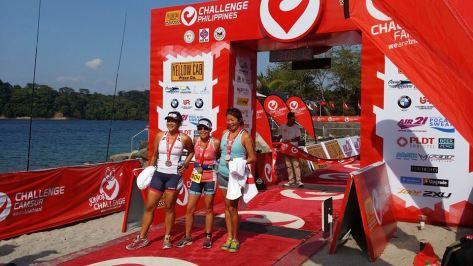 Challenge relay team