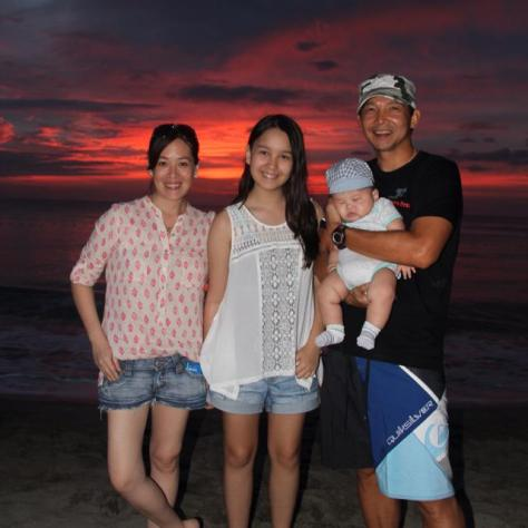 Maiqui's beautiful family