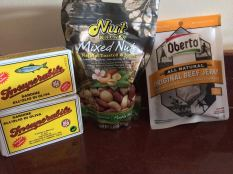 Travelling Primed snacks