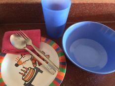 Travelling Primed take utensils