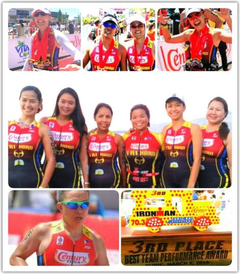 Anna R Century Tuna team