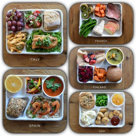 Lunch Boxes from around the world