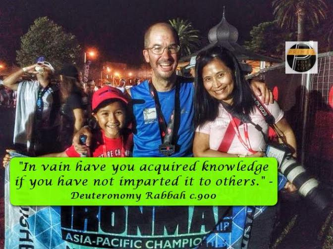 Some Great Triathlon Pointers from 2 Time Ironman Miguel