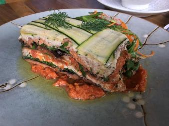 MIM 2015 Vegetable lasagne