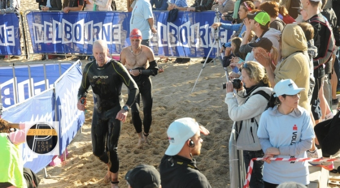 Chad's Melbourne Ironman: Swam, Biked & Ran on Fat