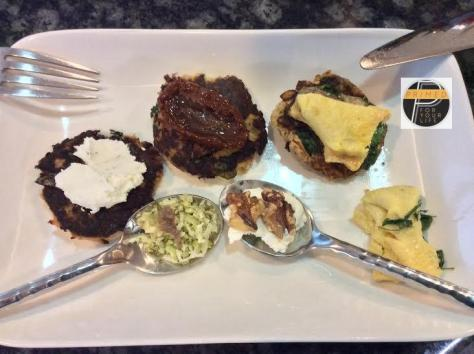 Salmon Patties 4 ways