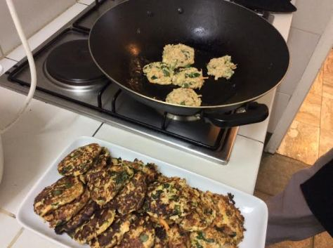 Salmon Patties w Coconut Oil