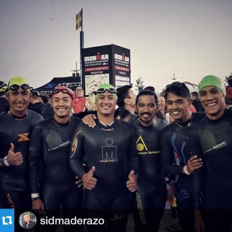Sid swim pals