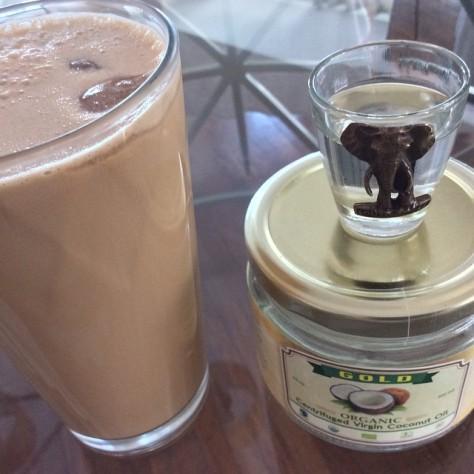 Coconut liquid breakfast