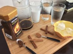 Iced Cinnamon Coffee ingredients