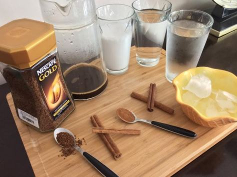 Iced  Cinnamon Coffee ingredients