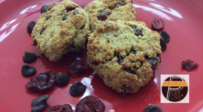 Primed Cranberry Chocolate Chip Cookies