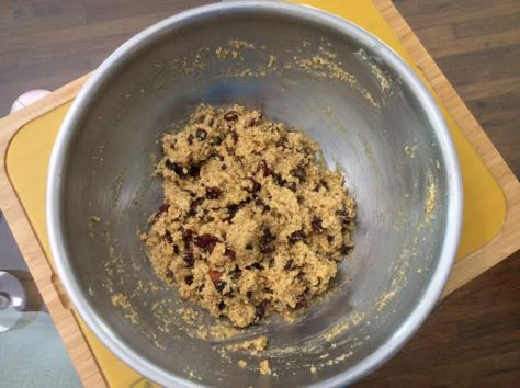 Primed Fruit & Nut Cookie Methode