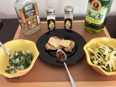 Zucchini noodles ingredients