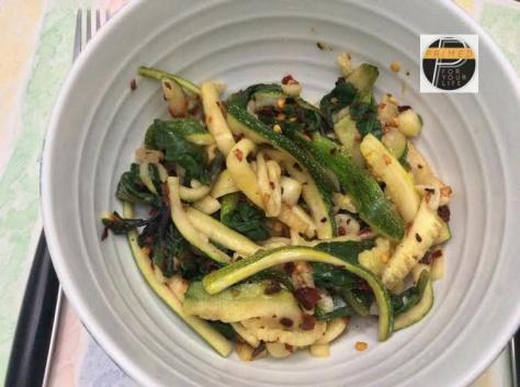 Zucchini stir fry1