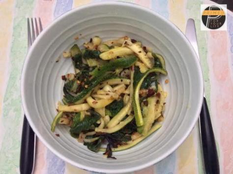 Zucchini stir