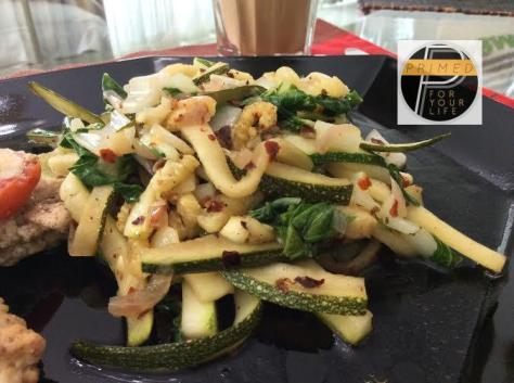 Zuccini noodles