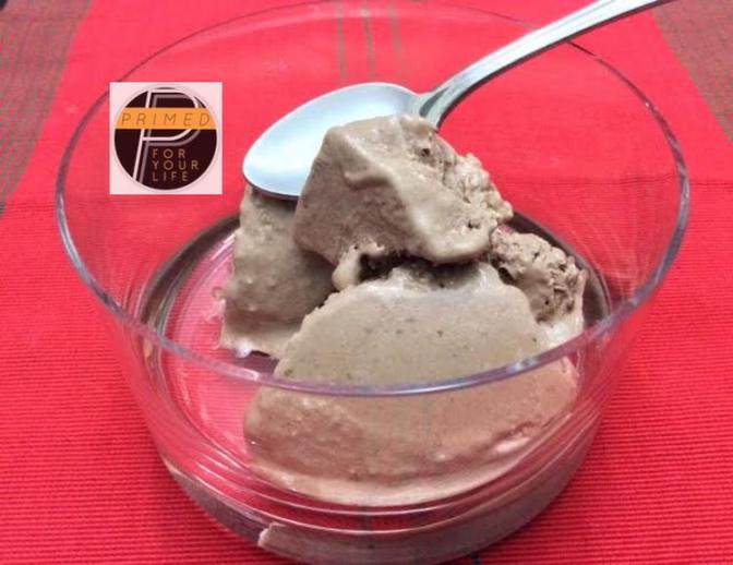 """Primed """"Dirty"""" Fruit and Nut Chocolate Ice Cream"""