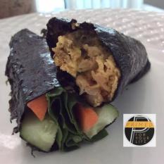 Kimchi Omelette Wrap