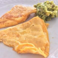 Guacamole refried Omelette
