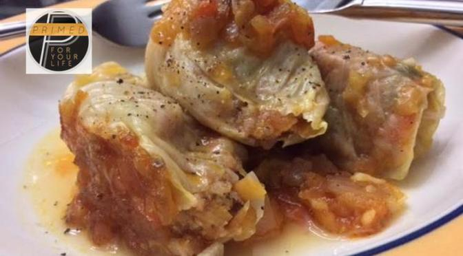 Primed Ukrainian Holubtsi – Cabbage Roll