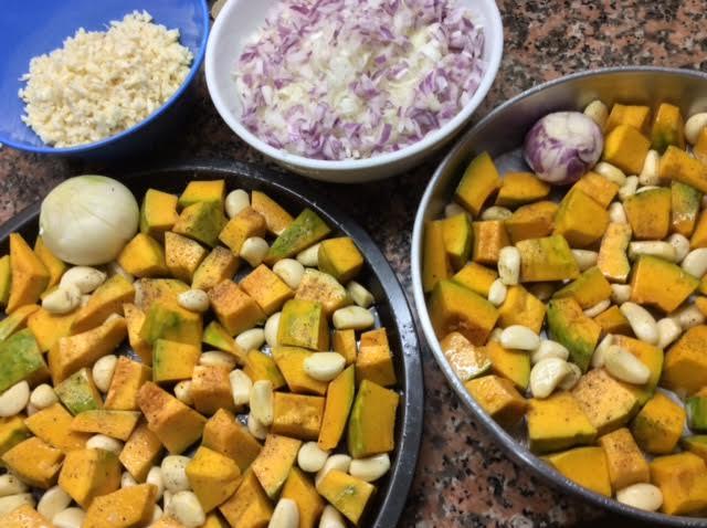 Onion garlic and turmeric as an