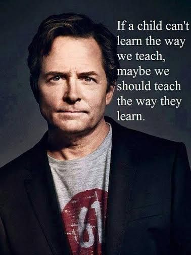 Teach Your Children MJ Fox