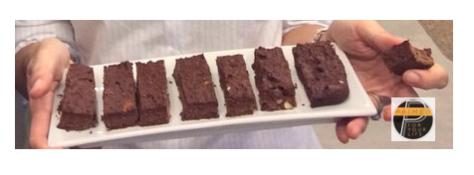Brownie plate