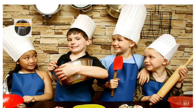 Teach Your Children To Cook and Unleash Their Inner Super Hero