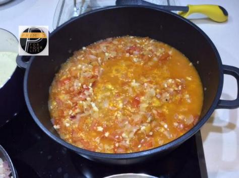 Home-Made Tomato Sauce big pot