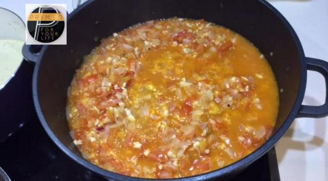 Primed Carbohydrates Thursday – Home-made Tomato Sauce