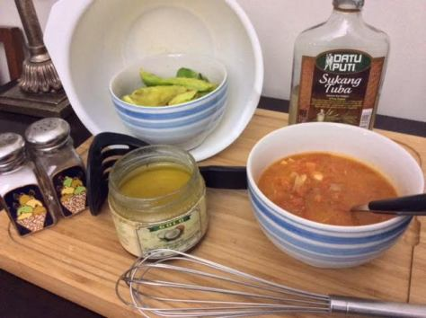 Home-Made Tomato Sauce Guacamole