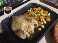 Roast chicken w Veg3